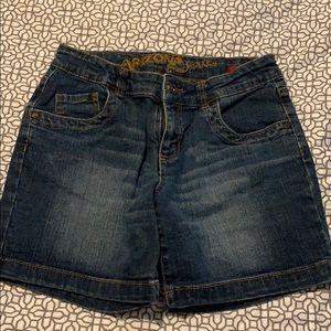 Girls Arizona Jean denim shorts size 14R